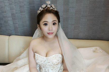 婚宴當日最美的新娘