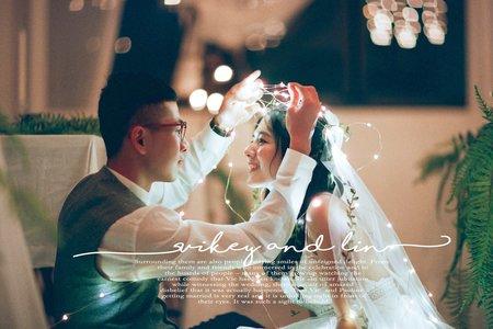 底片。婚紗寫真 [ vikey & lin]