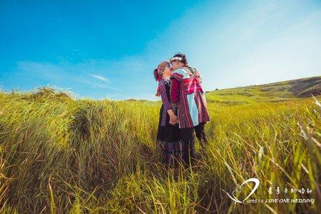 婚紗照/自助婚紗/原住民婚紗