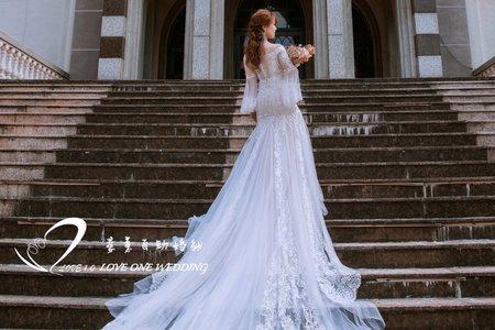 婚紗照/自助婚紗/婚紗攝影/鳳山教堂&駁二拍攝
