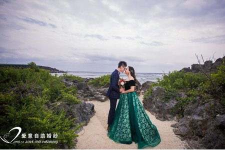 海外客來台|墾丁婚紗景點推薦|自助婚紗