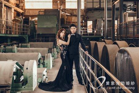 橋頭製糖工廠|愛意自助婚紗|高雄婚紗攝影工作室