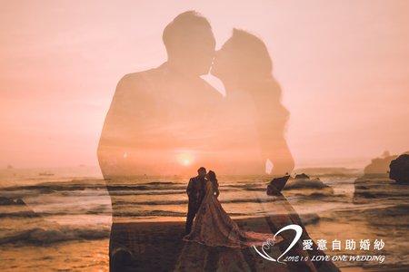 高雄/夕陽/海邊婚紗