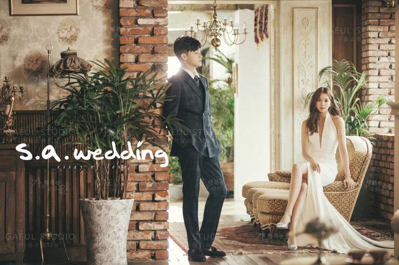 s.a. wedding 韓國婚紗攝影