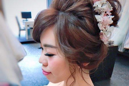 日系可愛高盤髮