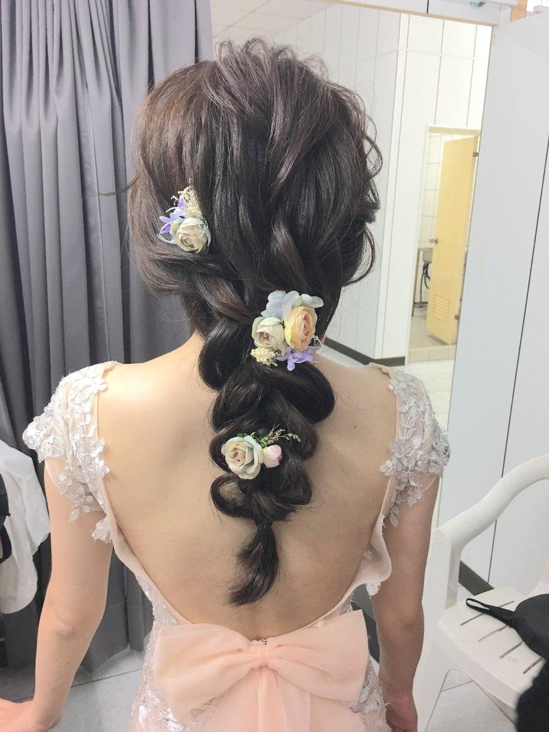 新娘髮妝整體造型作品