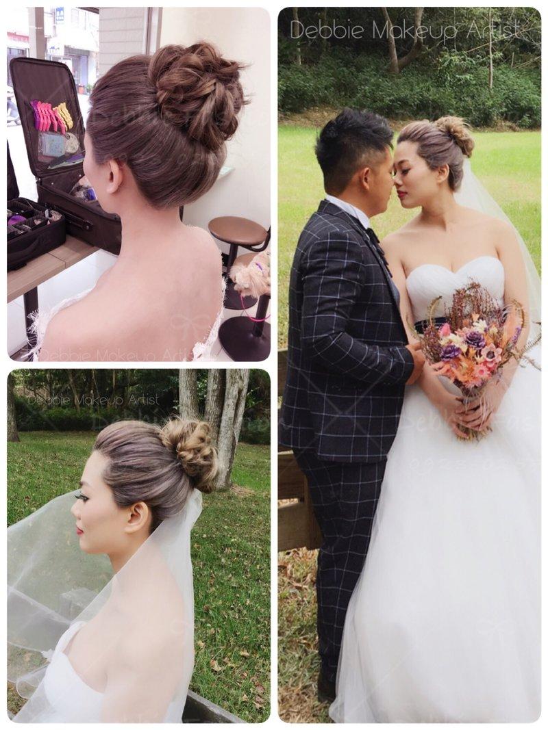 新娘單妝整體造型作品
