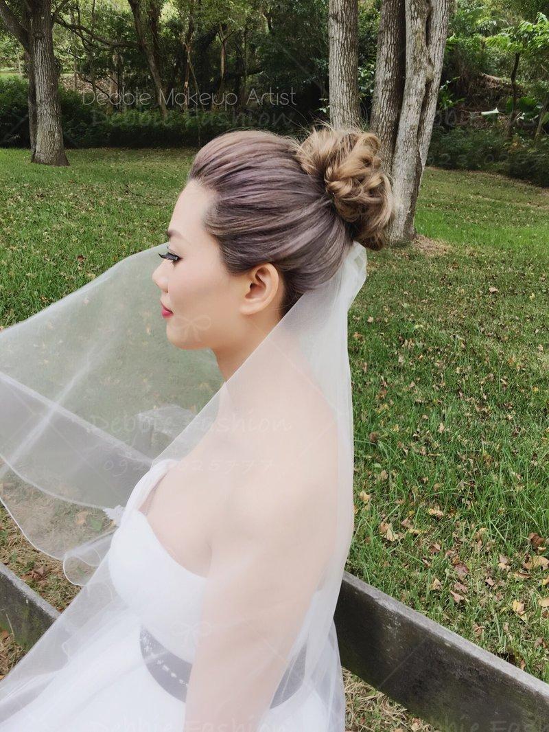 訂結新娘整體造型作品