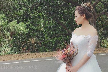 結婚新娘整體造型