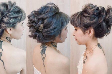 岱比新娘髮妝整體造型