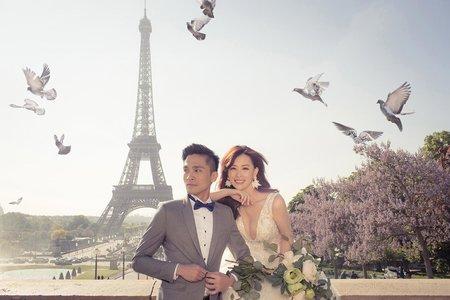 萊恩海外婚紗:法國巴黎