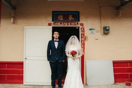 婚禮紀錄 | 高雄台鋁晶綺盛宴-迎娶+晚宴(度比)