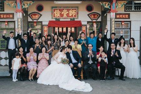 婚禮紀錄 | 高雄漢來大飯店-迎娶+午宴(度比)