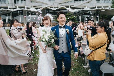 婚禮紀錄 | 華山觀止虫二行館(度比)