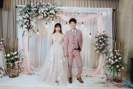 婚禮紀錄 | 台中兆品酒店(度比)