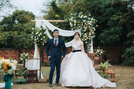 婚禮紀錄 | 台糖長榮酒店(度比)