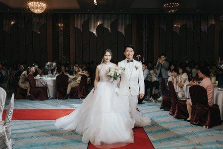 婚禮紀錄 | 漢來大飯店巨蛋會館(度比)