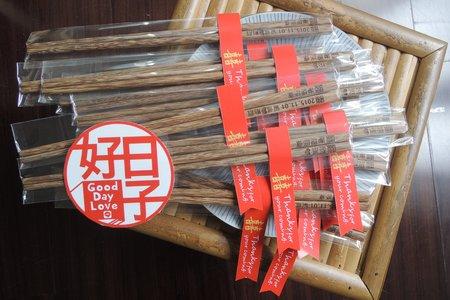 (暫不接件)客製化祝福木筷 / 80