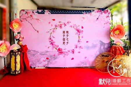 中國風-巨型紙花