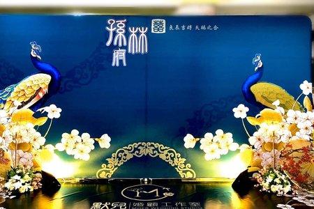 孔藍情深-中國風