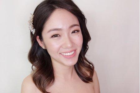 韓式水潤妝