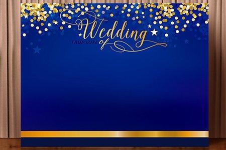 布式婚禮背板出租-越來越愛你
