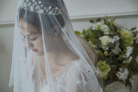 雜誌邀稿刊登-新娘皇冠造型