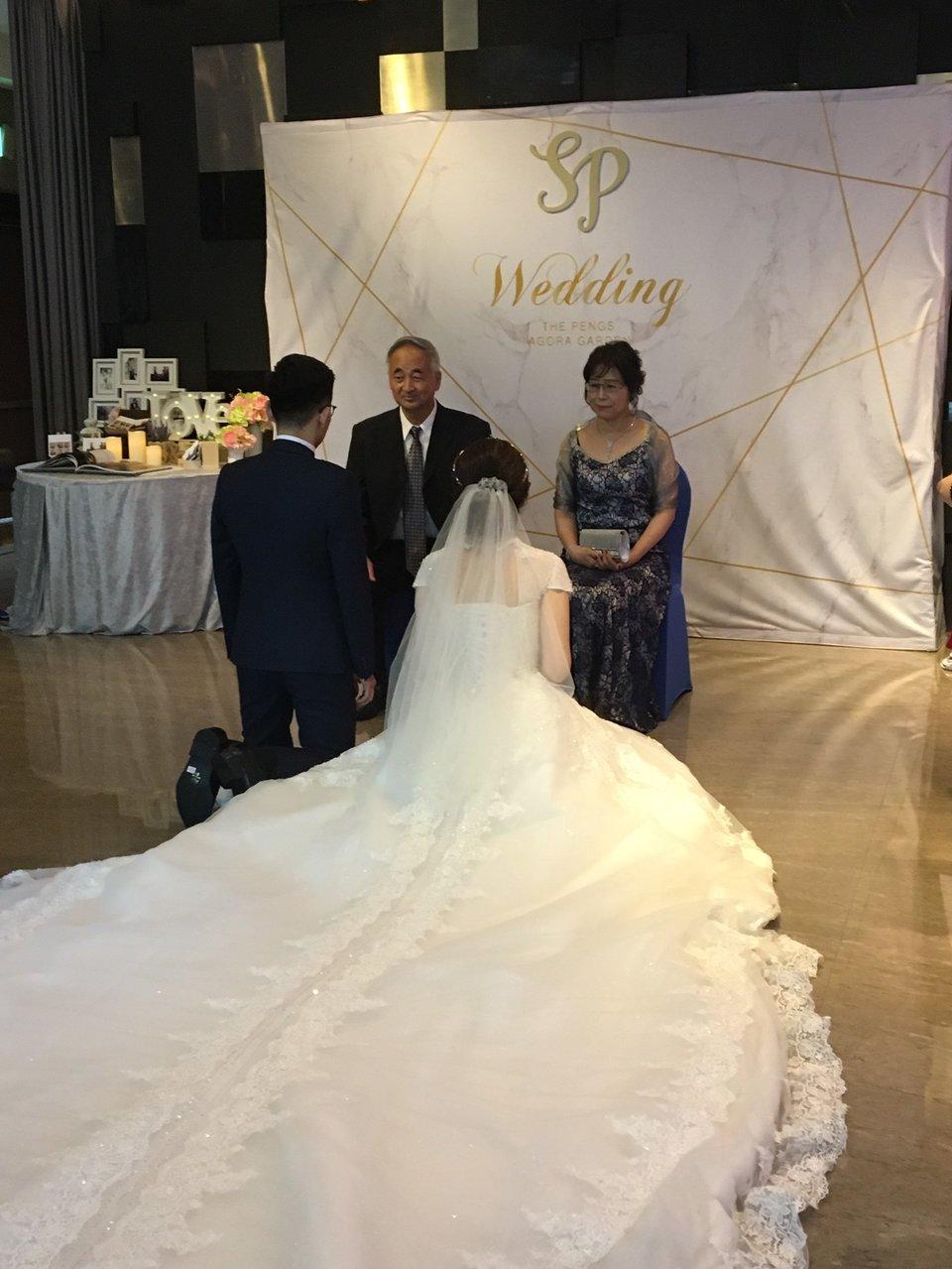 彭園婚宴會館-台北館,彭園企劃團隊給了我一個溫馨的婚宴