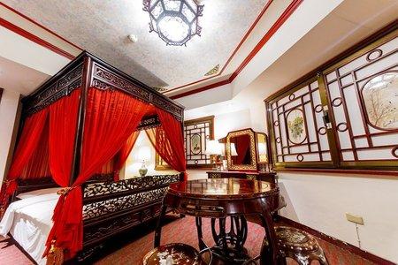 中國古典新娘廂房