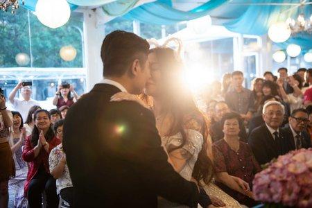 佳瑩&韋天 wedding in 青青食尚花園