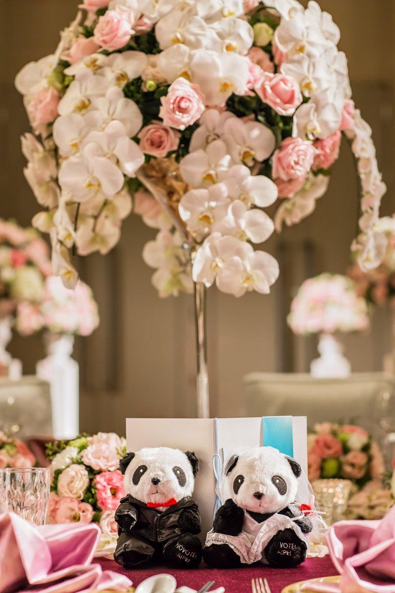 獨家造型 熊貓婚禮小物