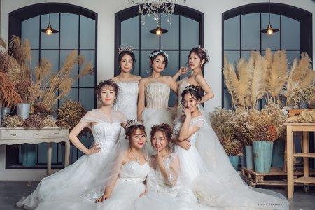 七人閨蜜婚紗慶生