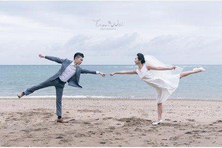 Anna & Wei 外拍婚紗