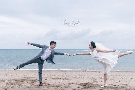 Anna & Wei 外拍妝髮