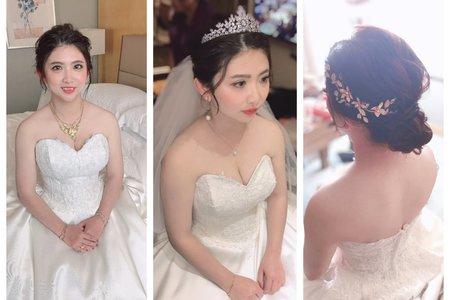 「婚禮造型紀錄」-白紗造型