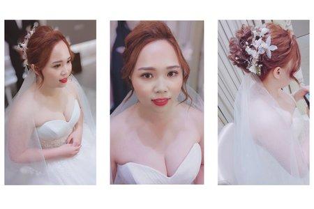 「婚禮造型紀錄」