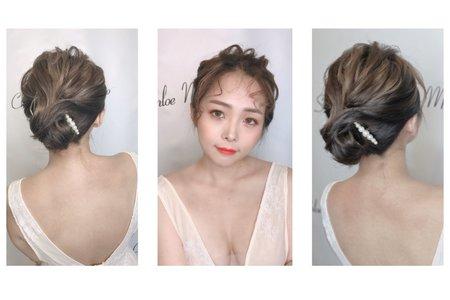 「韓系丸子頭」
