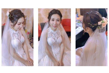 清新優雅白紗造型