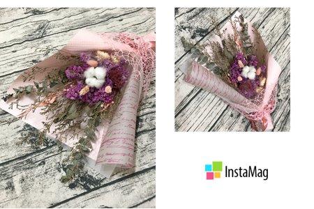 婚禮小物 乾燥花束
