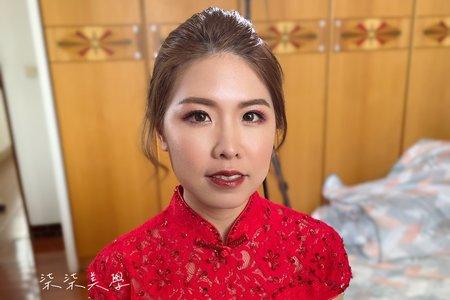 台中梧棲訂婚儀式單造型