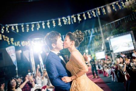 婚禮紀錄|台南漚汪飛沙崙公園無棚晚宴|昆霖&千惠 12 Oct. 2019