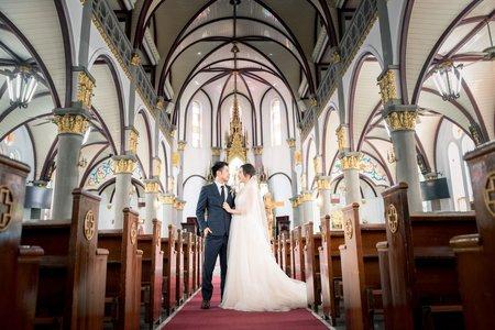 婚禮紀錄|恆毅&鑕靂_高雄玫瑰教堂證婚|31 Aug. 2019
