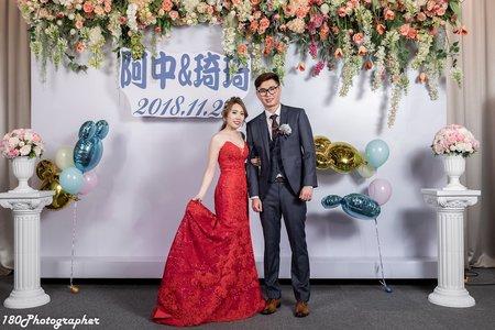 惟中&婧琦 婚禮紀錄 晶宴會館民權館