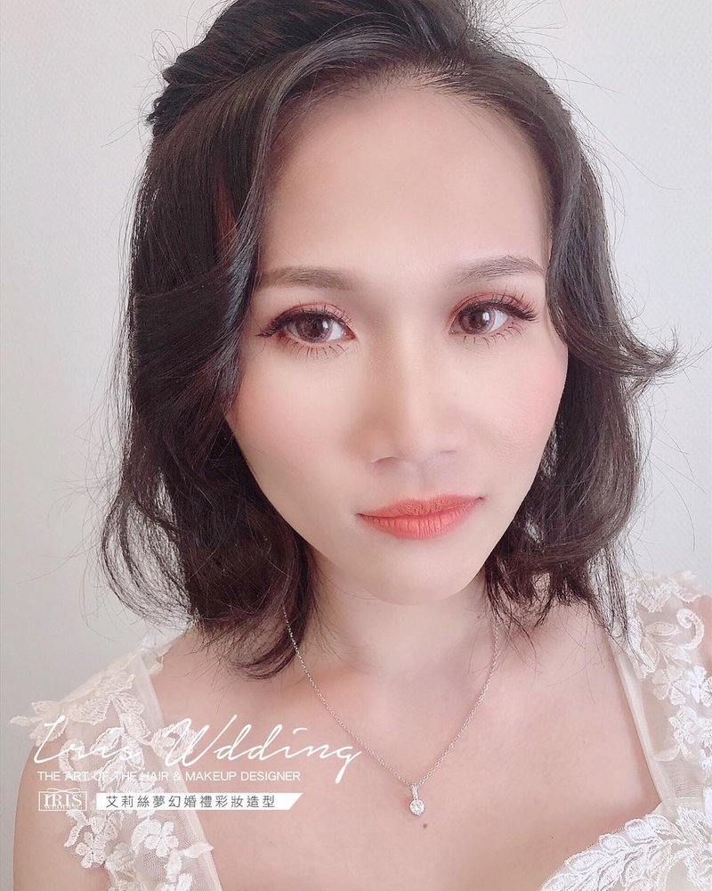 婚禮造型服務方案:單妝到府新秘作品