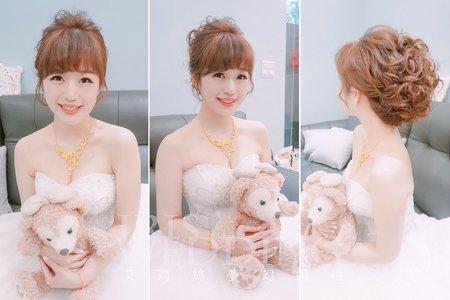 Iris Wedding星級造型師-婚宴新秘造型