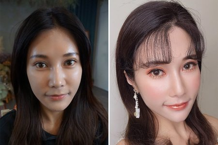 Before&After makeup