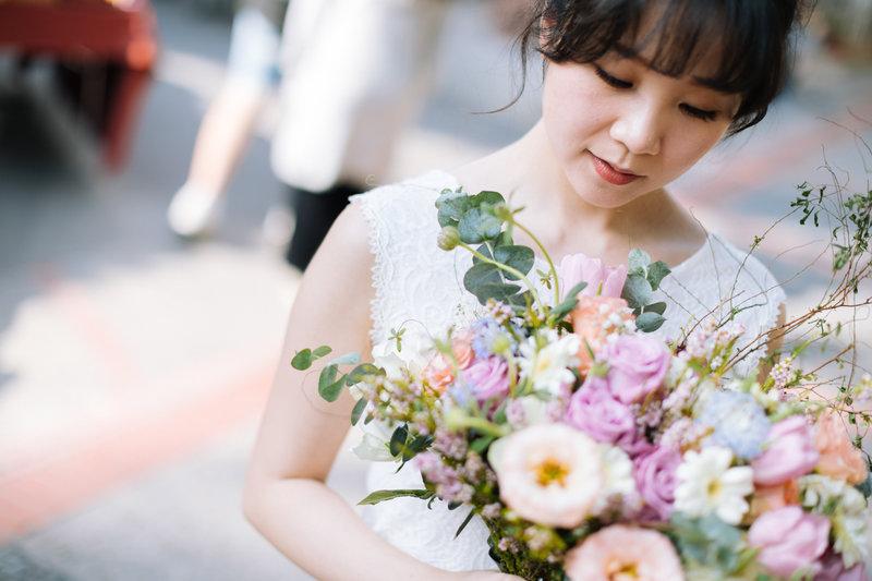 LINN  美式婚紗