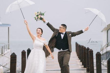 Yang & Claudia 美式婚紗