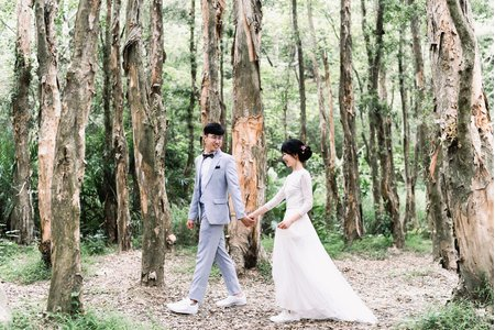 Poching & Luneve美式婚紗