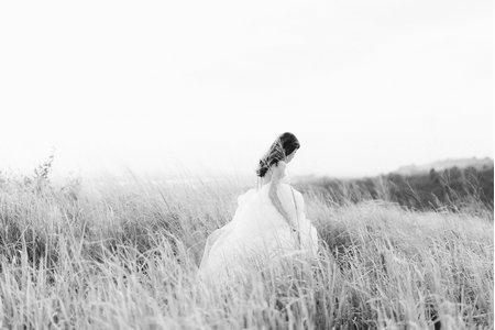 單人美式婚紗